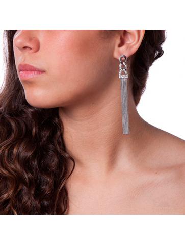 Σκουλαρίκι με  αλυσίδες
