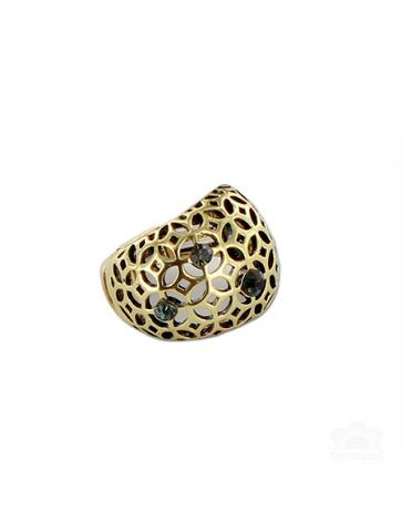 Adjustable filigree Ring