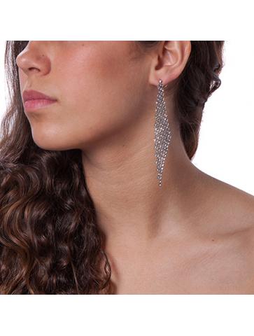 Στρας σκουλαρίκια
