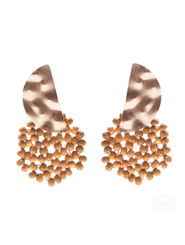 Semicircle earrings in...