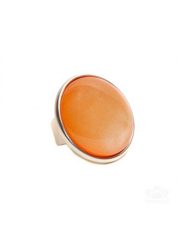 Orange Ring with round...